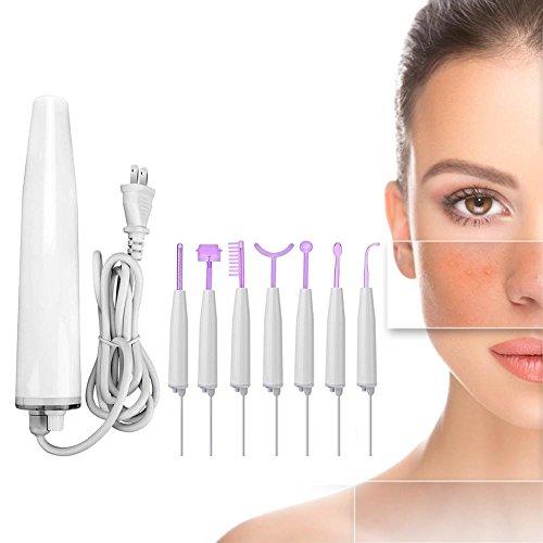 Yotown Máquina Facial de Alta frecuencia, Terapia portátil de Alta frecuencia Apriete la Piel Removedor…