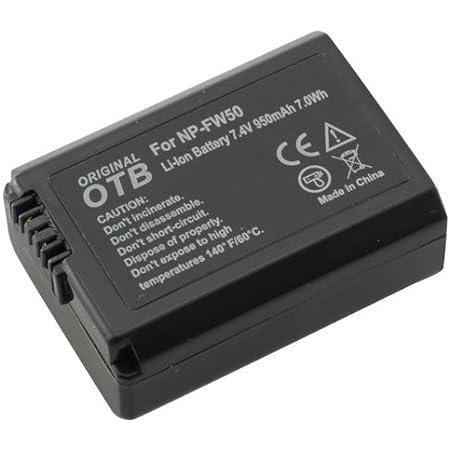Otb Akku Für Sony Np Fw50 Li Ion Schwarz Kamera
