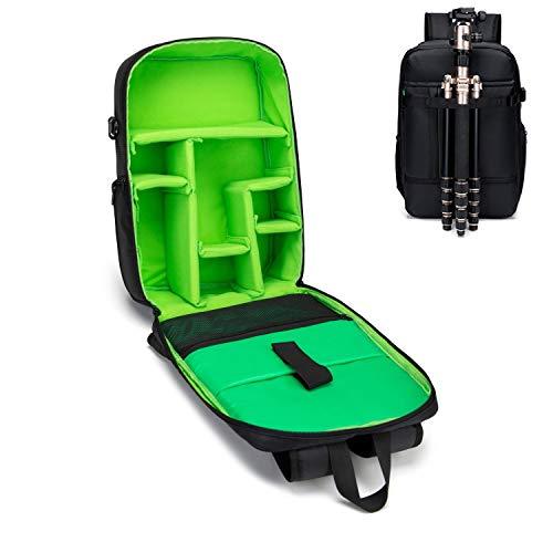 Estarer Waterproof DSLR Camera Laptop Backpack with Tripod Holder,Removable Gear Box,Large Professional SLR Photo Rucksack for DJI Mavic Pro,Canon,Nikon,Sony,Fujifilm (Large Professional)