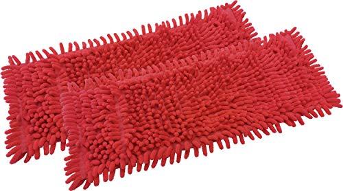 limpando Mopa de recambio para fregona (2 unidades, felpilla, microfibra, para suelos...