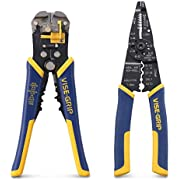 IRWIN VISE-GRIP 8-Inch Multi-Tool Stripper with 8-Inch Self-Adjusting Wire Stripper (2078300 & 2078309)