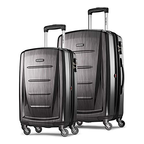 Samsonite Winfield 2 Hardside Expandable Luggage With Spinner Wheels 2-Piece Set For $124.99 And More On Sale From Amazon