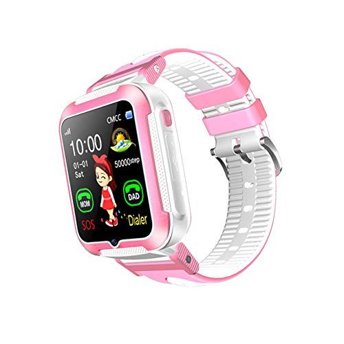Slimme horloges GPS Tracker-Kids GPS Smart Horloge GPS Tracker Kinderen Horloge Slimme Armbanden Polsbanden met SOS Telefoon Call Voice Chat Locator Stappenteller size 03#