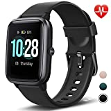 Letsfit Fitness Trackers, Smart Watch with 1.3' Touch Screen, Activity Tracker with Heart Rate Monitor, IP68 Waterproof Pedometer Smart Bracelet with Sleep Monitor, Step Counter for Women and Men
