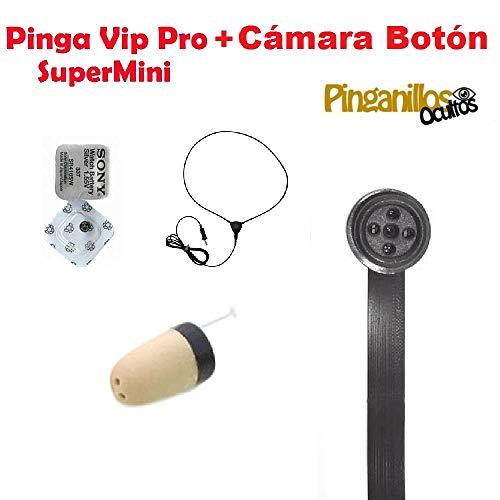 Pinga VIP Pro Supermini + Cámara Botón Espía WiFi