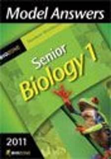Senior Biology 1 Answers