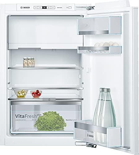 Bosch KIL22AFE0 Serie 6 Einbau-Kühlschrank mit Gefrierfach / E / 88 cm Nischenhöhe / 144 kWh/Jahr / 109 L Kühlteil / 15 L Gefrierteil / VitaFresh plus / VarioShelf