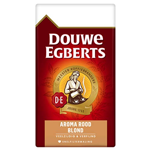 Douwe Egberts Aroma Rood Blond Filterkoffie, 6 x 500 Gram