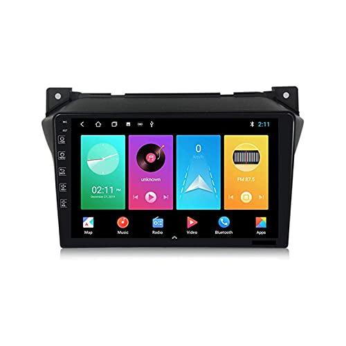 Android 9.0 Reproductor multimedia para coche Suzuki Alto Head Unit Radio estéreo 9 pulgadas HD pantalla táctil Sat Nav con Bluetooth Wifi 4G SWC GPS Navegación FM Receptor, 4 Core 4G+WiFi: 2+32GB