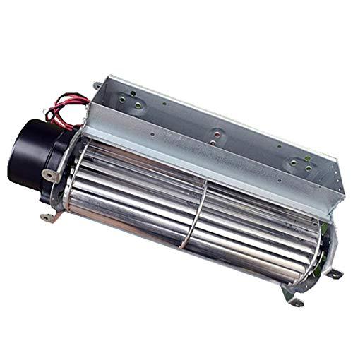Leloo Lruirui-Motor DC Ventilador de Flujo Cruzado DC sin escobillas, rodamiento de Bolas de 2,9 m3 / min, Volumen de Aire Alto LRD60180A Tipo de Tambor Fan de Flujo Cruzado, Piezas de Bricolaje