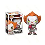 Lotoy Funko Pop Movie : Stephen King'S It - Pennywise#475 3.75inch Vinyl Gift for Horror Movie Fans ...