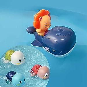 Juguetes de baño para niños pequeños, juguetes de baño para bebés, juguetes para niños, juguetes para bañarse
