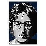 John Lennon (1) Poster, dekoratives Gemälde, Leinwand,