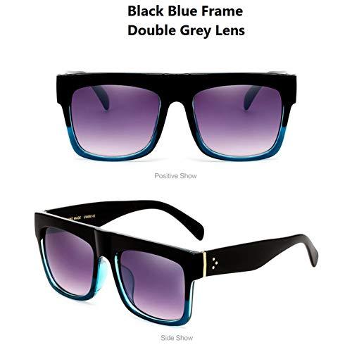 KCJKXC Vintage Rechthoek Kim Zonnebril Vrouwen Merk Retro Dames Shades Uv400 Bescherming Zonnebril Voor Mannen