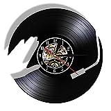 Nfjrrm DJ música Disco de Vinilo Reloj de Pared diseño Moderno...
