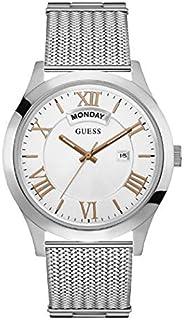 ساعة رسمية للرجال من جيس، بهيكل ستانلس ستيل، مينا باللون الابيض، انالوج - طراز W0923G1