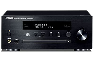 Yamaha MusicCast CRXN470D Compact Audio System with Built in Wifi, Airplay and Bluetooth - Black from YAMA6