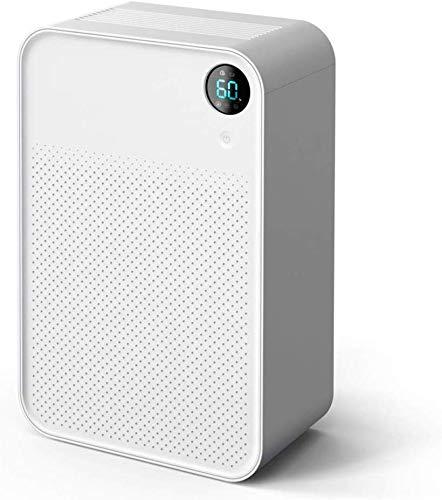 HUYYA 1000ml Filtro de Aire de la Humedad, Deshumidificador eléctrico portátil para Habitaciones Medianas y Grandes y sótanos,White