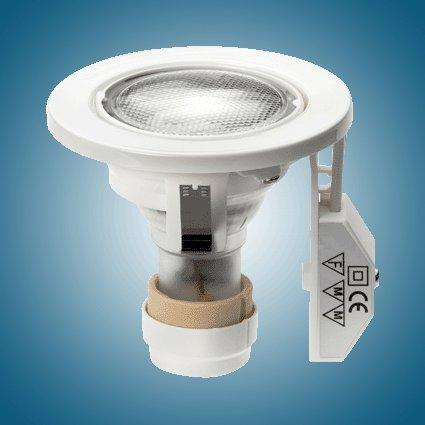Energiesparlampe MM75102 Einbauset  Max  80x84  GU10  7W~30W / 827  weiß