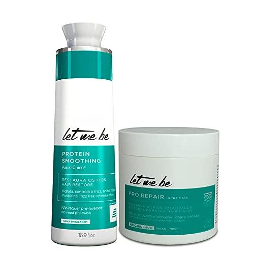 Kit Let Me Be Progressive Btox Smooth Protein Capillary Pro Repair 2x500ml/2x16.9fl.oz