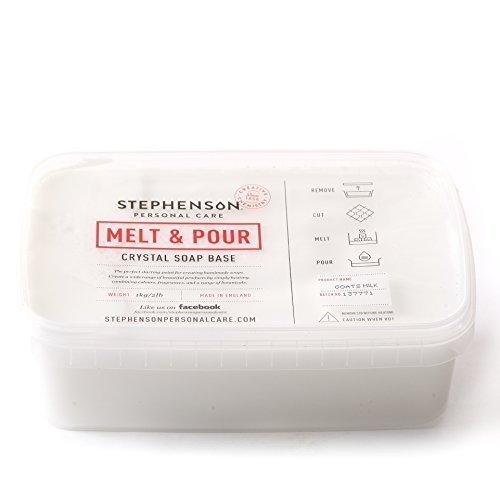 Melt and Pour Base jabón leche cabra derretir, 2