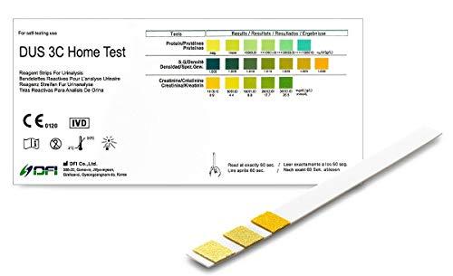 One+Step Nierentest 2 Stück - Kontolle von Kreatinin, Protein und spezifisches Gewicht