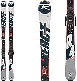 Rossignol React 4 Sport Ca Xpress 11 Gw Esquís con fijación, Adultos Unisex, Negro/Blanco, 162 cm