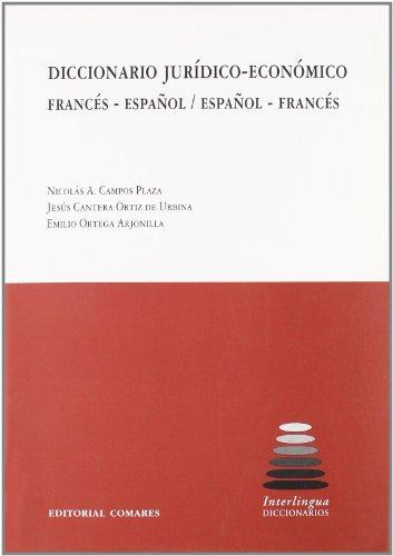Diccionario jurídico-económico francés-español   español-francés