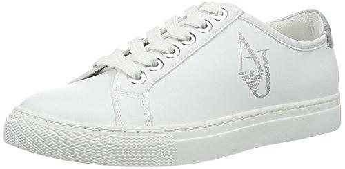 Armani Jeans Damen 9252207P610 Sneakers Weiß (Bianco) 38 EU