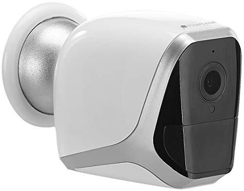 VisorTech Camera: 2K-IP-Überwachungskamera mit Akku, App, 1 Jahr Stand-by, 3 MP, IP65 (Kamera mit Akku)
