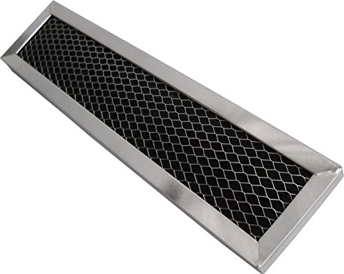 Charcoal Filter Replacement Compatible with JX81D and WB02X10943 - Measures 2-1/2 x 11 x 3/8-1 Pack