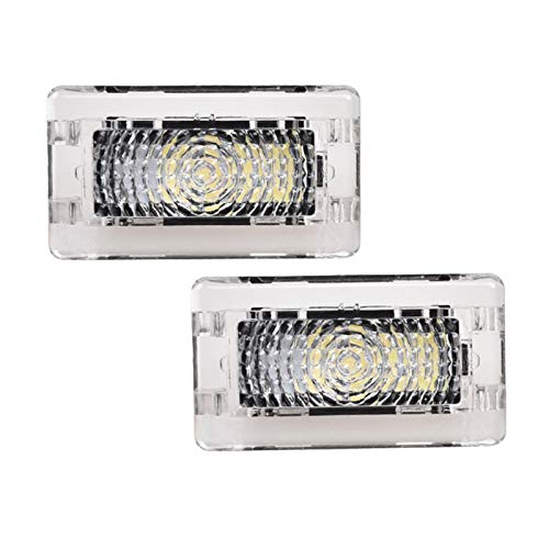 Ultra-bright White Led High Output Interior Light Car Door Lamp Puddle Trunk Light Kit for Tesla Model 3 S X (2 pack)
