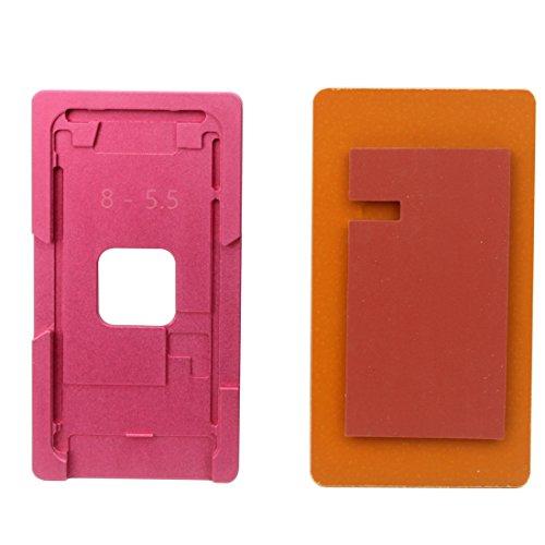 Moonbaby goede reparatie precisie scherm Refurbishment aluminium legering mallen voor iPhone 8 Plus(roze), roze