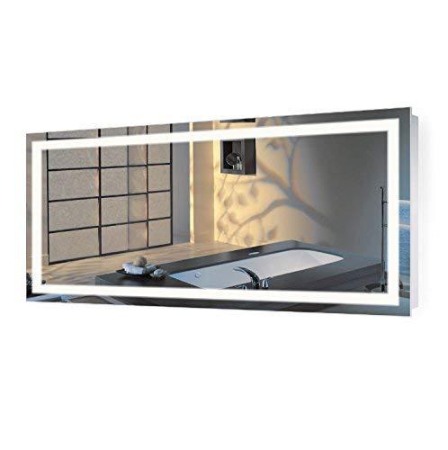 Krugg | Large 60 Inch X 30 Inch LED Bathroom Mirror | -