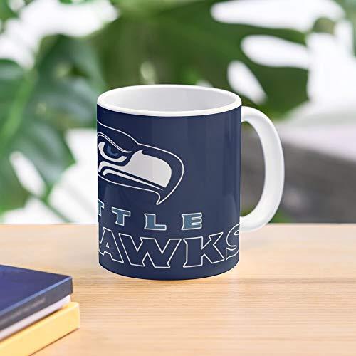 Seattle Seahawks American Football Best 11 oz Kaffeebecher - Nespresso Tassen Kaffee Motive