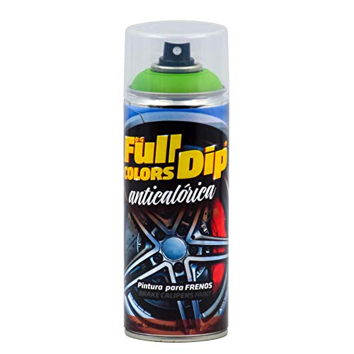 FullColors CAL008 Pintura Pinzas de Freno, Verde Lima, 400 ml