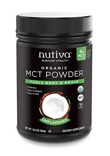 NUTIVA MCT POWDER,, 10.6 Ounce ()