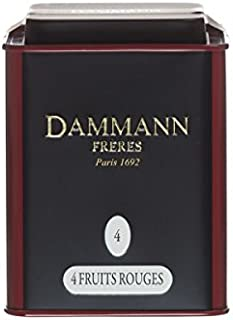 Dammann Freres Tee - 4 FRUITS ROUGES / 4 Rote Früchte Tee - 100gr dose