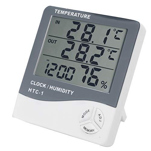 Digitales Temperaturüberwachungsthermometer Verschleißfestes hochauflösendes Display Einfach zu verwenden, zur Temperaturmessung, zur Temperaturerfassung