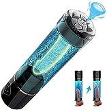 Macho eléctrico pene Alargamiento de la Bomba, Bomba de vacío Realista Camiseta for el Dispositivo de presión de Aire de los Hombres Penni