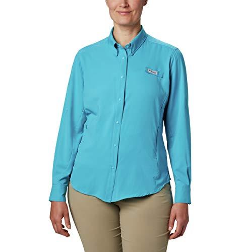 Columbia PFG Tami™ II T-Shirt de pêche à Manches Longues pour Femme Protection UPF 40 Évacuation de l'eau Claire Taille S