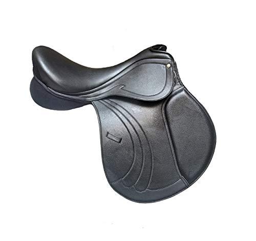 Wonder Wish Sillín de caballo de salto de alta calidad para todos los propósitos: asiento de 14 a 18 pulgadas