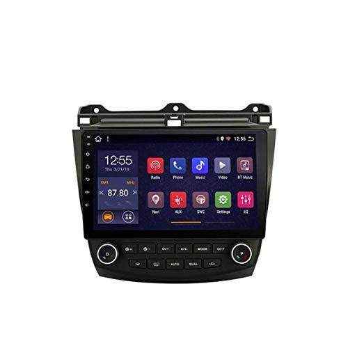 XMZWD 10.1inch Sat Nav 2G RAM 32G ROM Android 8.1 Navegación GPS para Coche, para Honda Accord 7 2003-2007 con Audio Estéreo De Vídeo(Contener Cámara/Calentador De Coche)