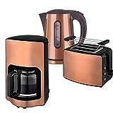 Kalorik Frühstücksset JK 1200 + TO 1220 + CM 1220 Wasserkocher 1,7 L, Toaster und Kaffeemaschine...