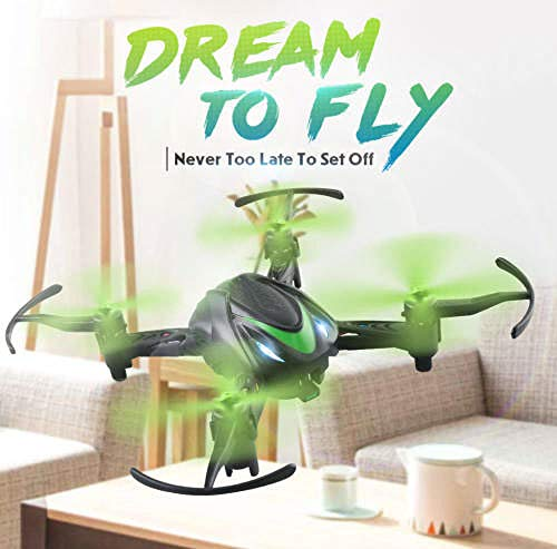 Mini Drone 2.4G 4CH RC Helicopter 6 Axis RC Drone Quadcopter RTF Best Gifts for Kids Gift Toy S