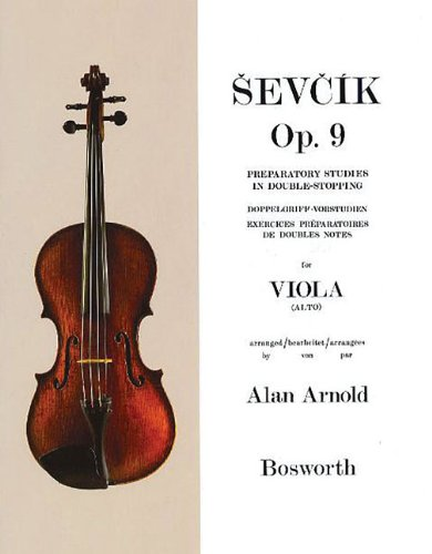 Sevcik for Viola - Opus 9: Preparatory Studies in Double-Stopping (Sevcik Violin Studies)