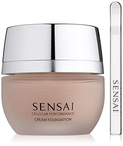 Kanebo Sensai Cellular Performance femme/woman, Cream Foundation CF12 soft beige, 1er Pack (1 x 30 ml)
