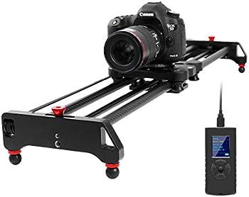 GVM Professional Video Carbon Fiber Motorized Camera Slider (32