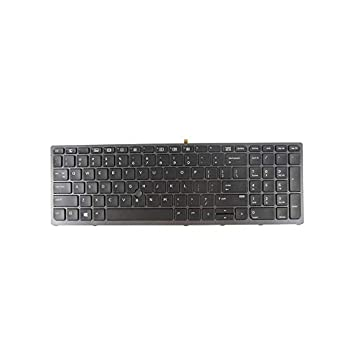 New Keyboard Replacement for HP Zbook 15 G3 17 G3  not for zbook 15 G1/G2/ 17 G1/G2  848311-031 848311-001 with Backlit Pointer US