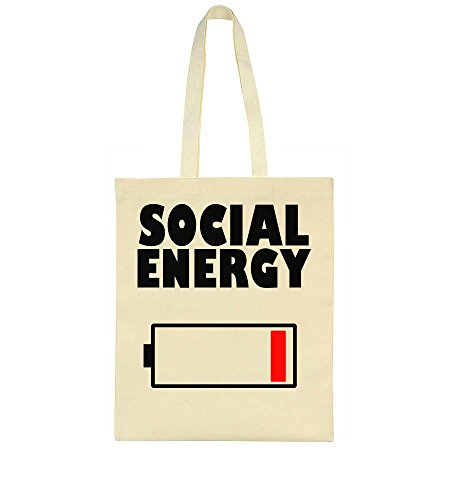 IDcommerce Social Energy Battery Icon At The Lowest Point Tote Bag